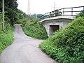 Libčice nad Vltavou, Hašlerova, podjezd do Dolan.jpg