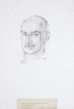 Commander-in-Chief, Ceylon - Image: Lieutenant general H E de R Weatherall, Cb, Dso, Obe, Mc Commander in chief, Ceylon Art.IWMARTLD5621