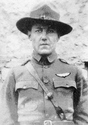 John Joseph Seerley Jr. - Lieutenant John Joseph Seerley, 13th Aero Squadron, Souilly Aerodrome, France, 1918