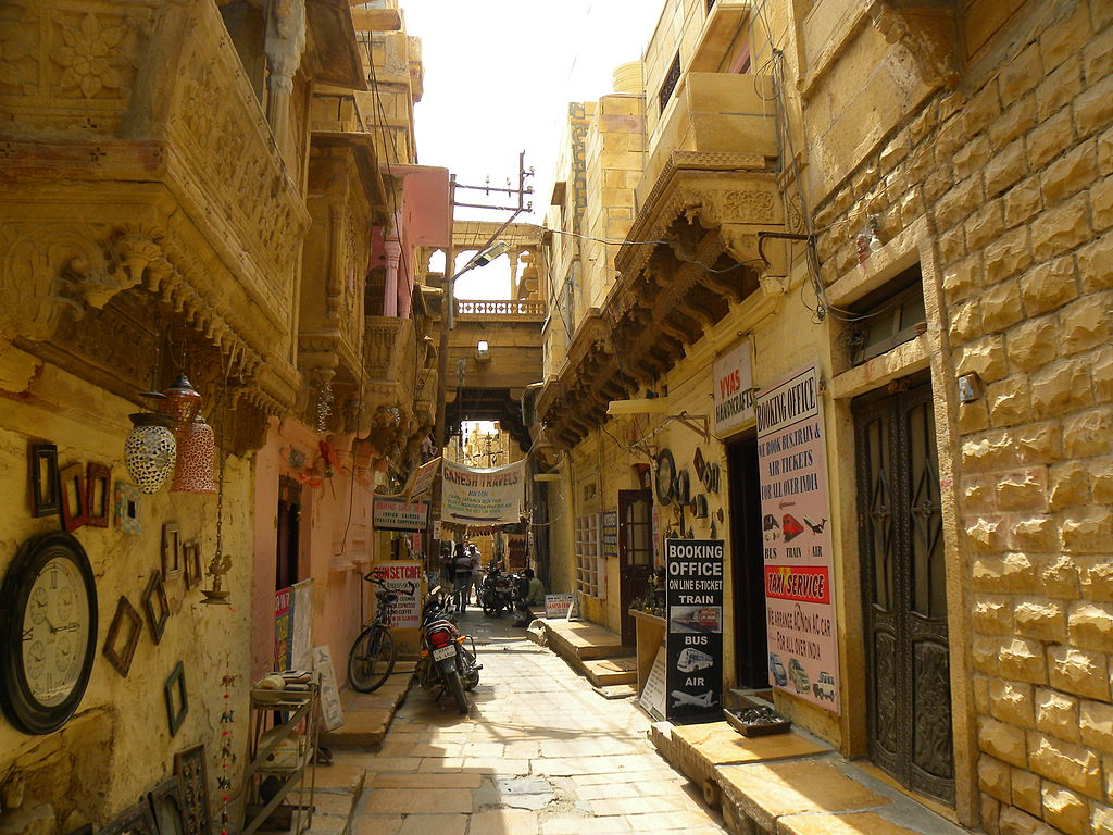 Life inside Jaisalmer Fort