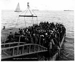 Lightering passengers from steamship VICTORIA, probably Nome, July 2, 1907 (NOWELL 168).jpeg