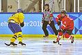 Lillehammer 2016 - Women hockey - Sweden vs Switzerland 2.jpg