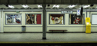 Lima (Buenos Aires Underground) - Image: Lima GCBA
