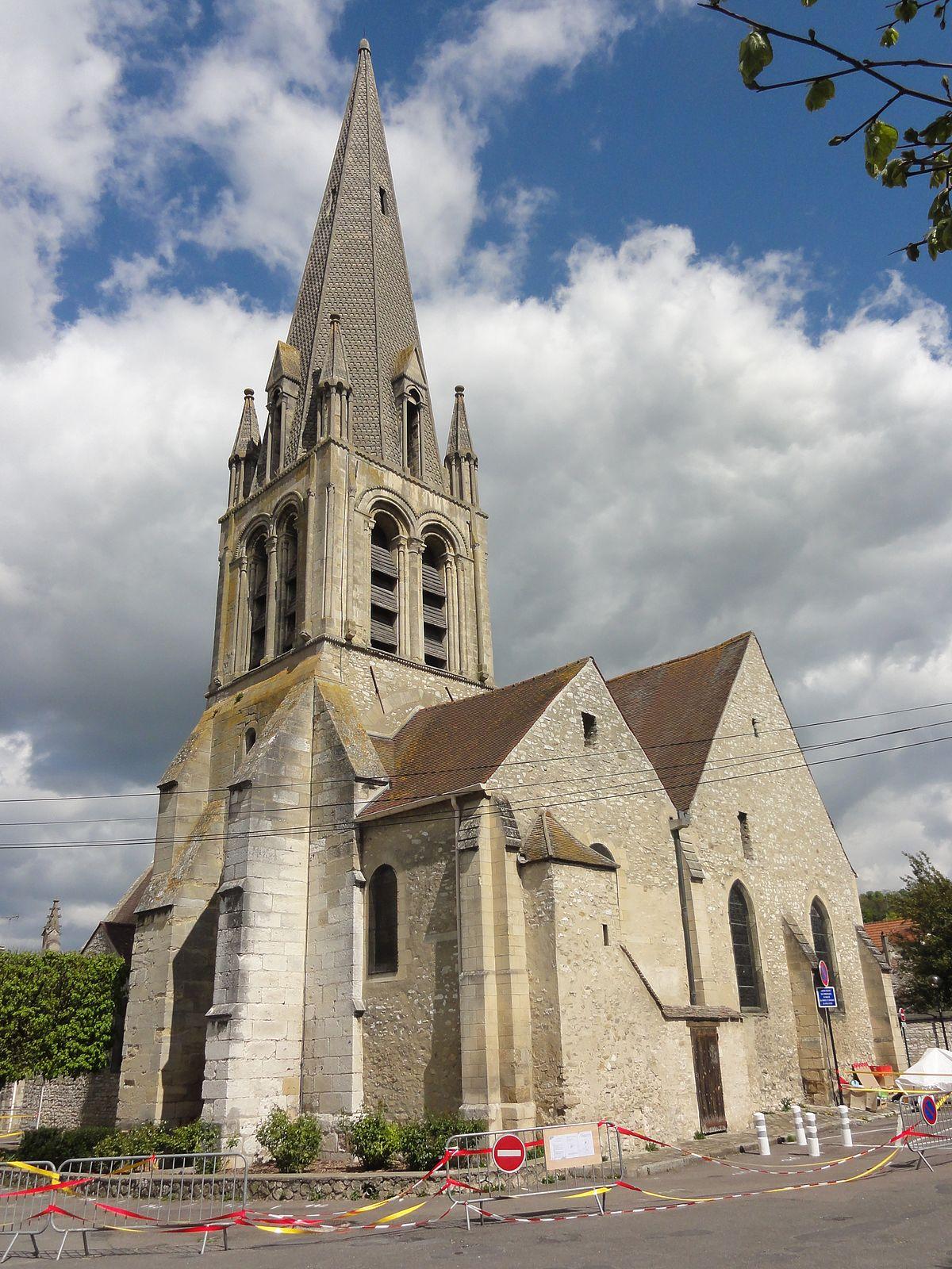 Glise saint aubin de limay wikip dia - La petite cheminee saint aubin ...