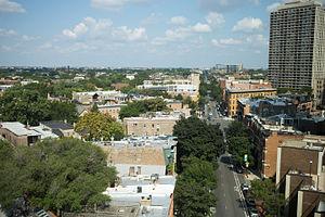 Lincoln Avenue (Chicago) - Lincoln Avenue near Clark Street