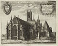 Lincoln Cathedral, Monastici Anglicani (Hollar, 1673).jpg
