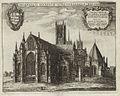 Lincoln Cathedral, Monastici Anglicani (Hollar, 1673).jpg