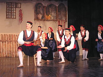 Linđo - Annual concert of Linđo on 24 December 2005 in Nova Pazova.