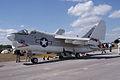 Ling-Temco-Vought A-7A Corsair II BuNo 153135 LFrontSide TICO 13March2010 (14412880509).jpg