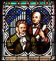 Linzer Dom - Fenster - Beethoven und Bruckner deriv bg.jpg