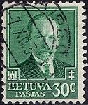 Lithuania 1934 MiNr392 B001.jpg