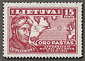 Lithuanian Air Post stamp Mi-405 (1936).jpg