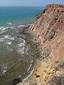 Litoral entre as Praias da Calada e da Assenta ( Portugal ).jpg
