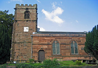 St Peters Church, Little Budworth Church in Cheshire, England