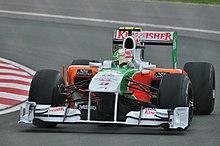 Liuzzi al Gran Premio del Canada 2010