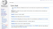 File talk:Live chat mock-up png - Wikipedia