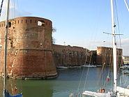 Livorno bastioni della Fortezza Vecchia