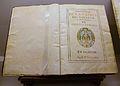 """Llibre de les '""""Constituciones de la Capilla del Colegio y Seminario del Corpus Christi"""", València 1605.JPG"""