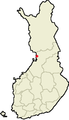 Location of Ii in Finland.png