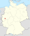 Locator map GL in Germany.svg