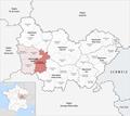 Locator map of Arrondissement Château-Chinon (Ville) 2017.png