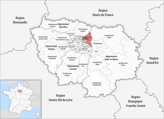 Arrondissement of Le Raincy Arrondissement in Île-de-France, France
