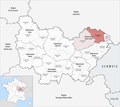 Locator map of Arrondissement Lure 2017.png