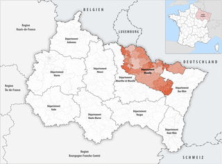 Lage des Moselle