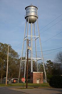 Lockesburg Waterworks United States historic place
