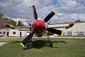 Lockheed XFV-1 Salmon BuNo 138657 HeadOn FLAirMuse 05March2011 (14413058389).jpg