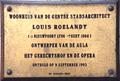 Lodewijk Roelandt gedenkplaat Nederkouter Gent.png