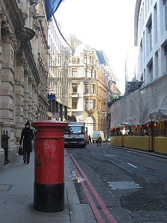 Italians in the United Kingdom - Lombard Street, London