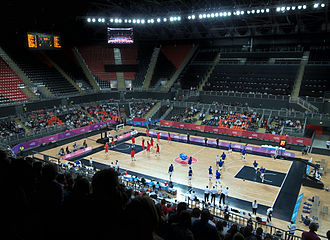 Basketball at the 2012 Summer Olympics - Image: London Olympics 2012 Basketball Arena