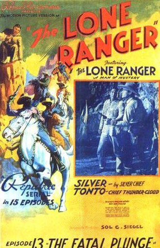 Chief Thundercloud - Poster for the 13th episode of the Lone Ranger serial