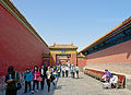Long corridor in Six Western Palaces, Forbidden City.jpg