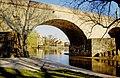 Looking through Bridge in Regensburg - panoramio.jpg
