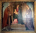 Lorenzo Costa, Madonna col Bambino in trono fra i santi Petronio e Tecla, 1496.jpg