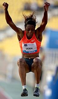 Lorraine Ugen British long jumper