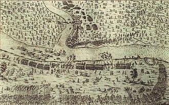 Battle of Loyew (1651) - Image: Loyew Battle 1651