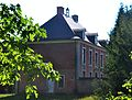 Lubbeek - Dekenij, dubbelhuis 1757 (linker zijgevel).jpg