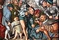 Lucas cranach il vecchio, crocifissione, 1538, 03 giocatori.jpg