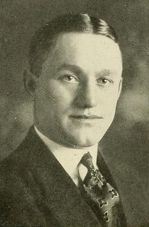 Luke Urban - Urban pictured in Sub Turri 1921, Boston College yearbook