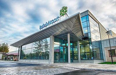 Förr hette den Kallax, numera Luleå Airport
