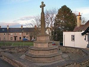 Luncarty - War memorial at Luncarty