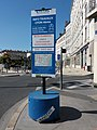 Lyon 4e - Cours d'Herbouville, plaque Info travaux juin - août 2019.jpg