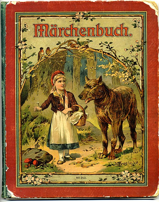 Märchenbuch - German language book of children's fairy tales 1919 (3917961982)
