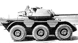 M38 Wolfhound - M38 fitted with a turret from the M24 Chaffee.
