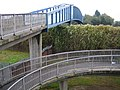 M3 Motorway, Curly Bridge Close footbridge - geograph.org.uk - 576833.jpg