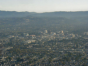 San Mateo, California - San Mateo from above