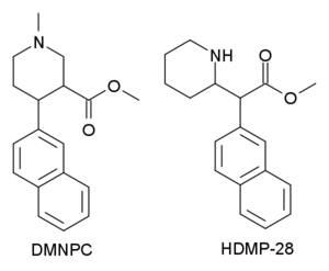 N,O-Dimethyl-4-(2-naphthyl)piperidine-3-carboxylate - Image: MMNPC&HDMP 28